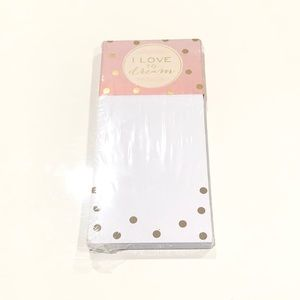 Eccolo I Love To Dream Notepad New